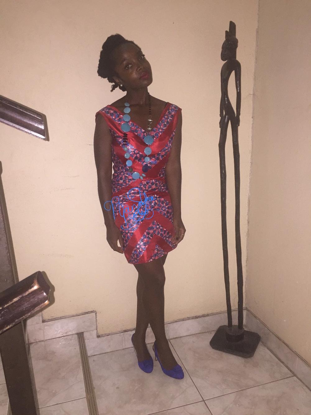 Dress  MySisterMadeIt Shoes  Mo Saique  Necklace  Tebazile