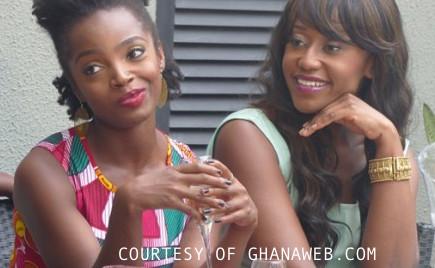 L to R Dress  Kiki Clothing  earrings  Shop Doku  dress  Afro Mode  Bracelet courtesy of  Afua Rida