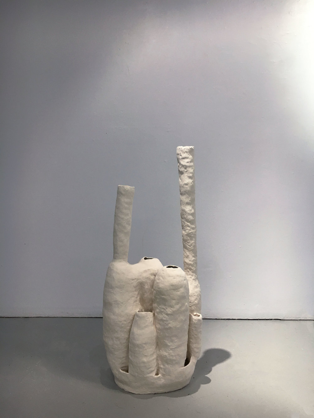 untitled, 2016, fired clay