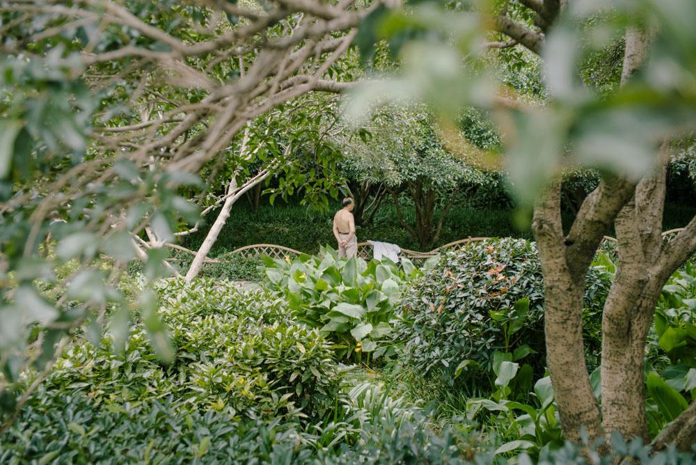 上海緑地シリーズ:裸父