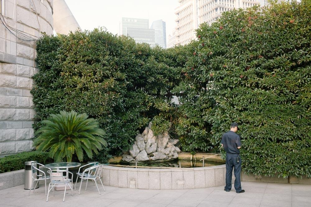 上海緑地シリーズ:警備