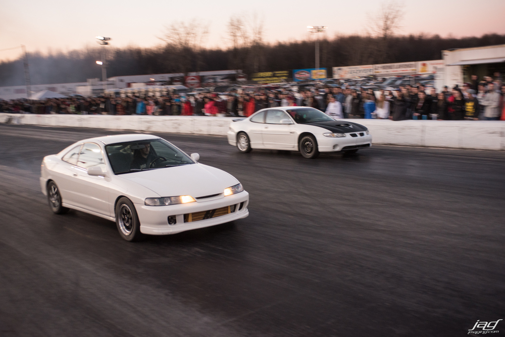 Two sleeper cars! 500 HP Integra and boosted GTP