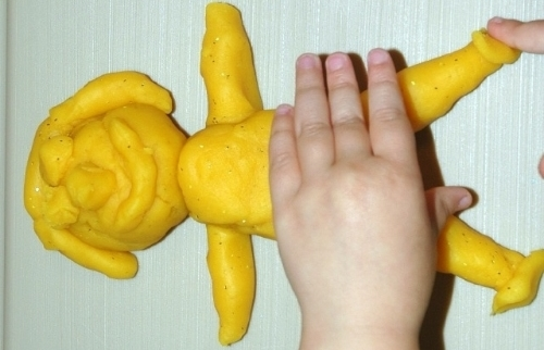 Playdough Person Visual