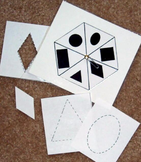 Shape Spinners & Scissors