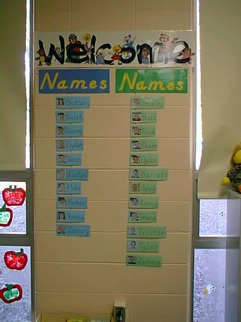 Name Wall