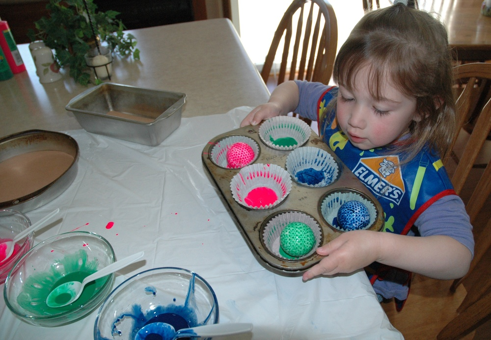 Golf Ball Painting (Muffins)