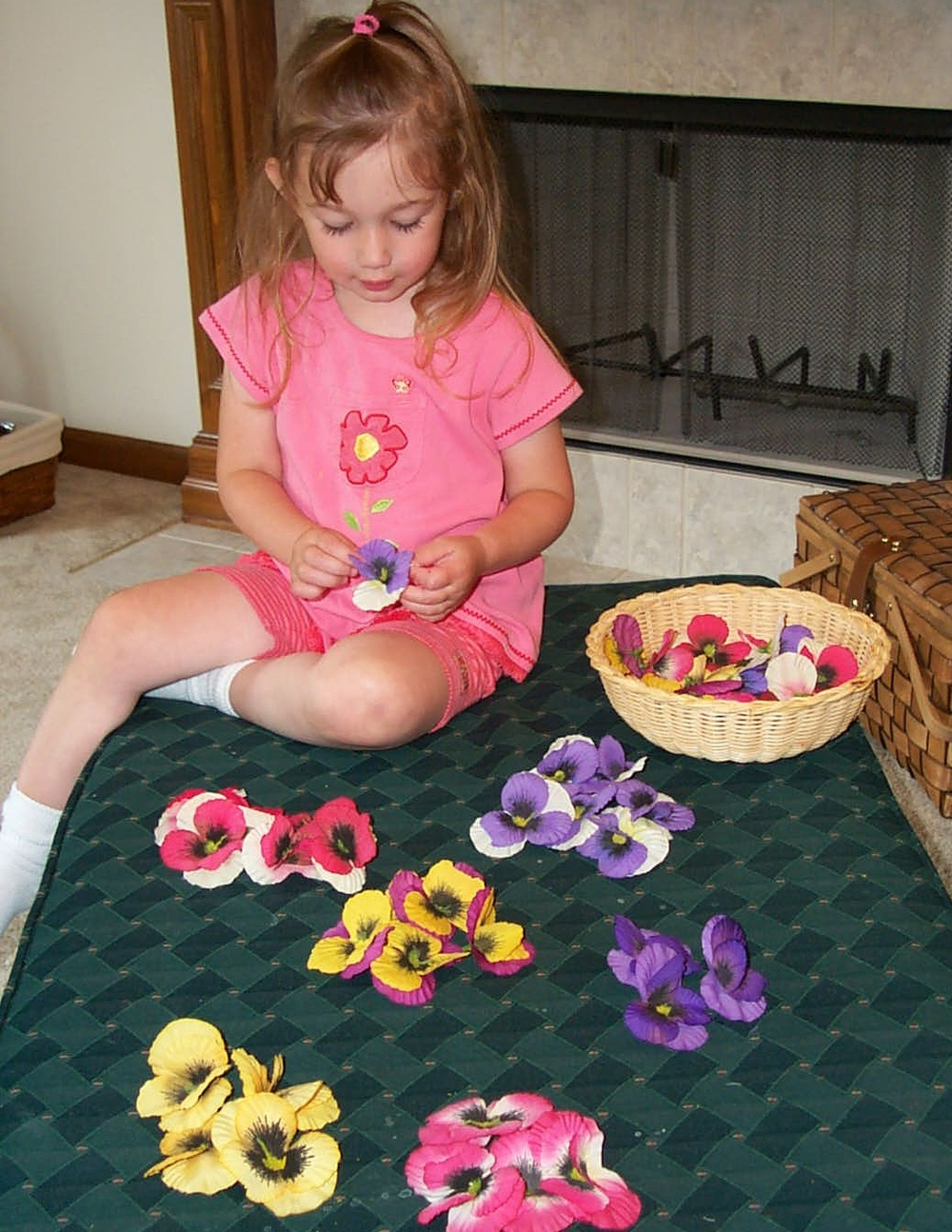 Sorting Flower Petals