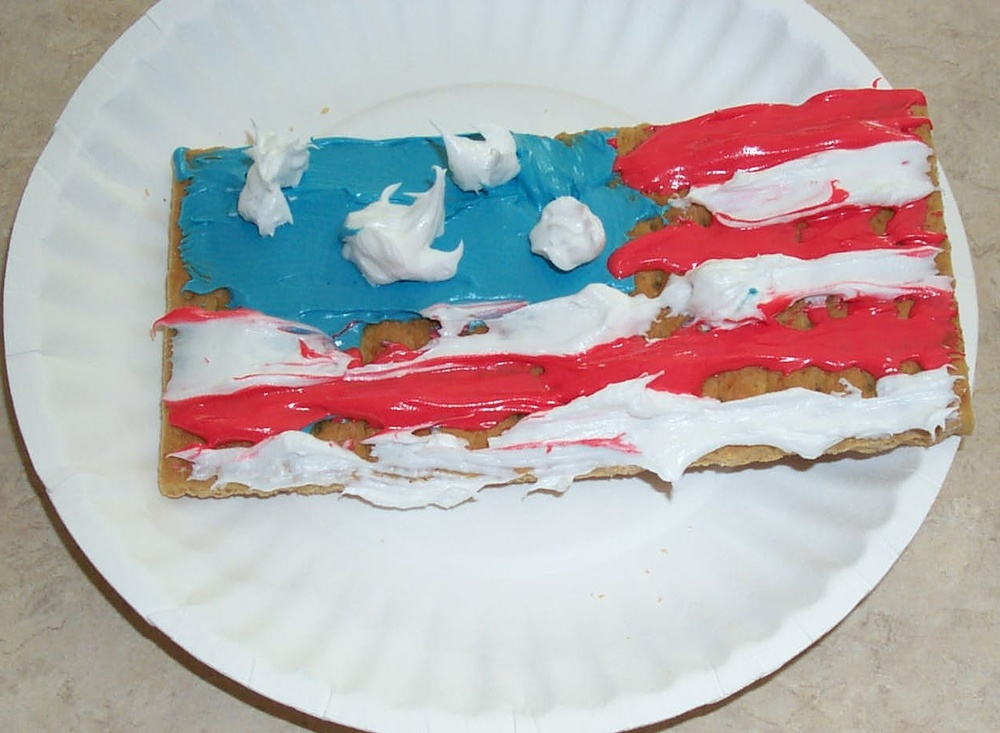 Graham Cracker Flag