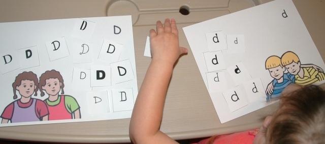 D or d Letter Sort