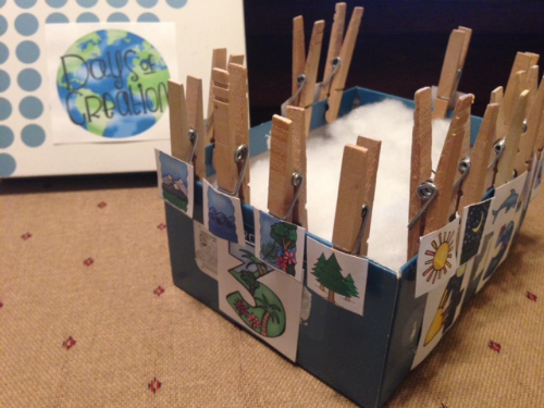 Creation Clip & Sort Box