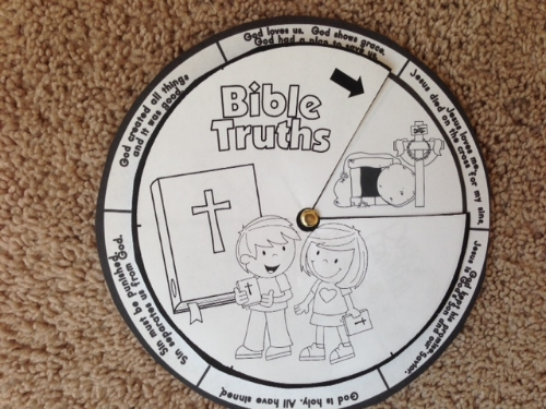 Bible Truths Wheel