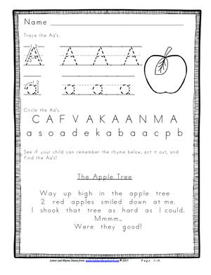 ABCs and Rhyme — Hubbard s Cupboard
