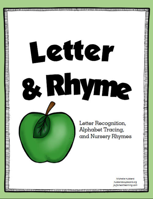 letter and rhyme coverpng