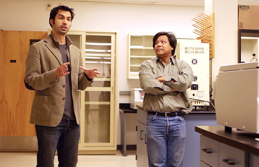 "CEO Ryan Bethencourt and co-founder Ron Shigeta discuss the idea of Berkeley BioLabs, the self proclaimed ""hackubator"" that aims to provide a creative space and shared lab for scientists while providing business support. BY JESSIE LAU 