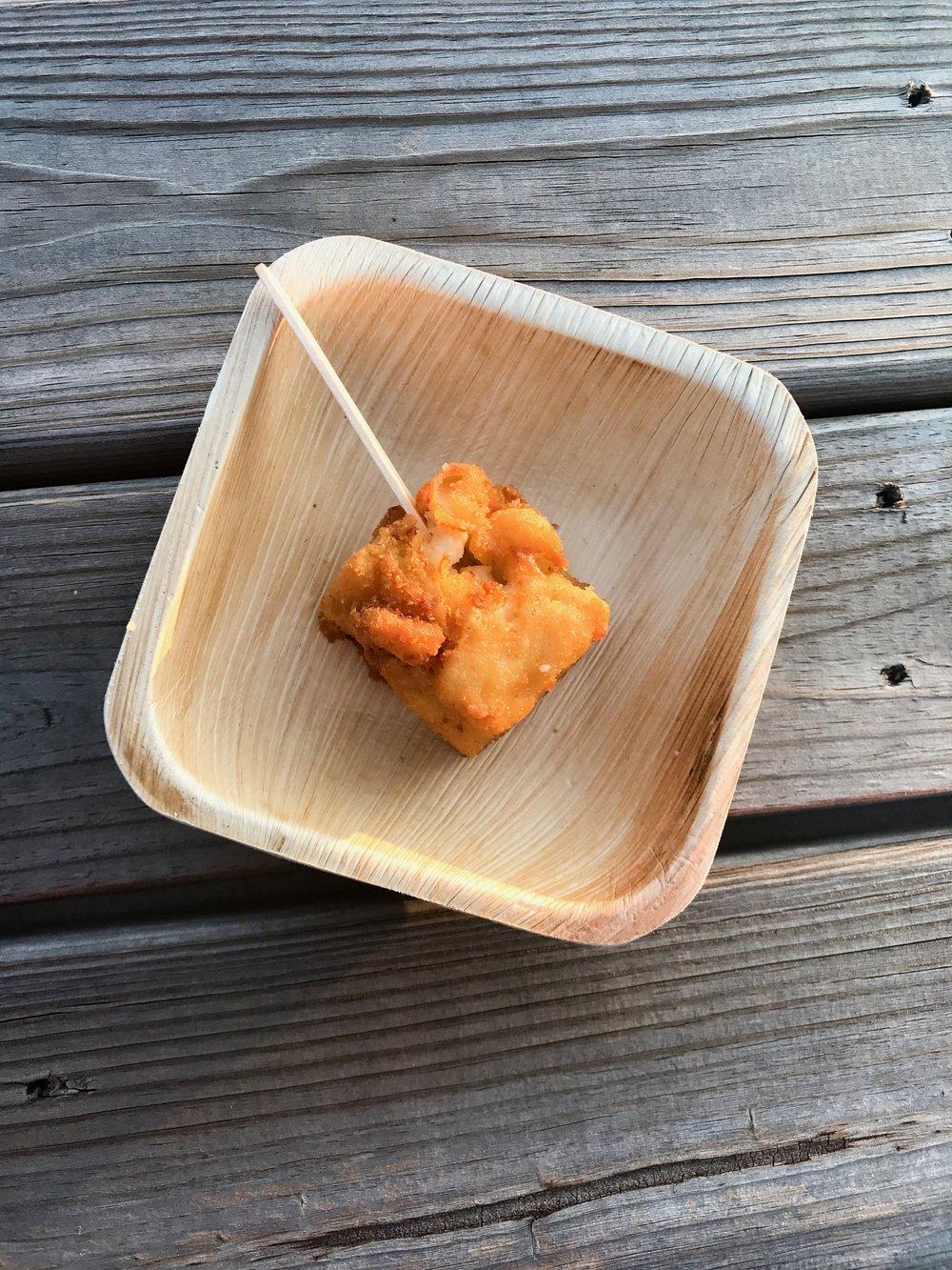 Mac + Cheese Pops