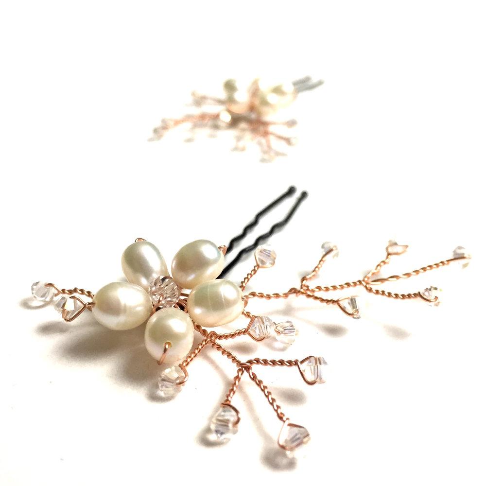 Copper 'Emmaline' Hair Pins