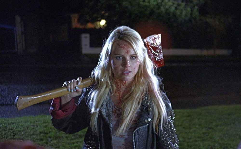 Still from Jason Lei Howden's Death­gasm