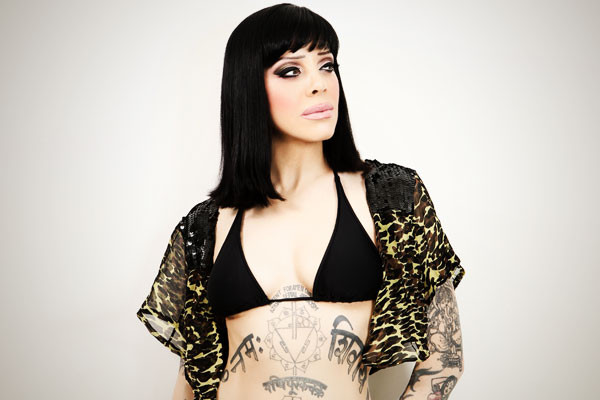 Bif Naked speaks at Incite on May 4, 2016.