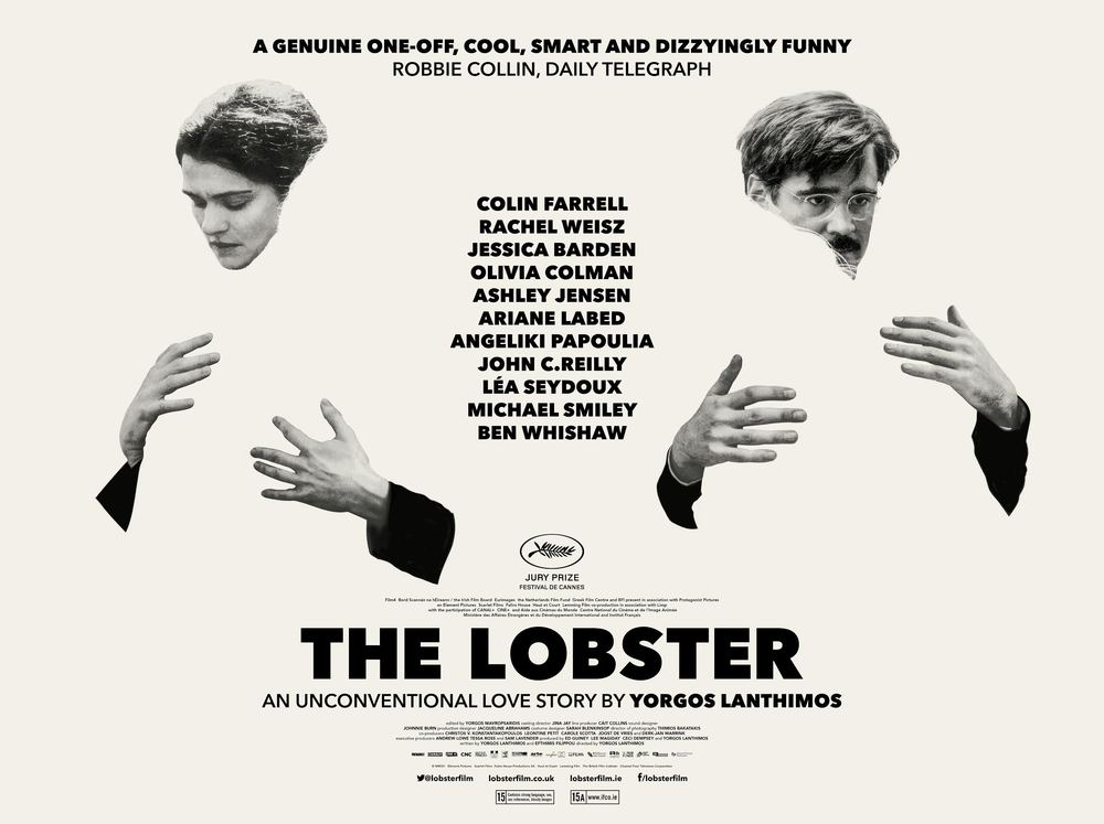 Poster from Lanthimos'  The Lobster