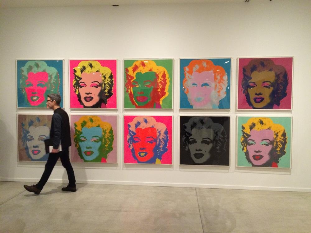 Andy Warhol at MashUp, photo by Helen Wong