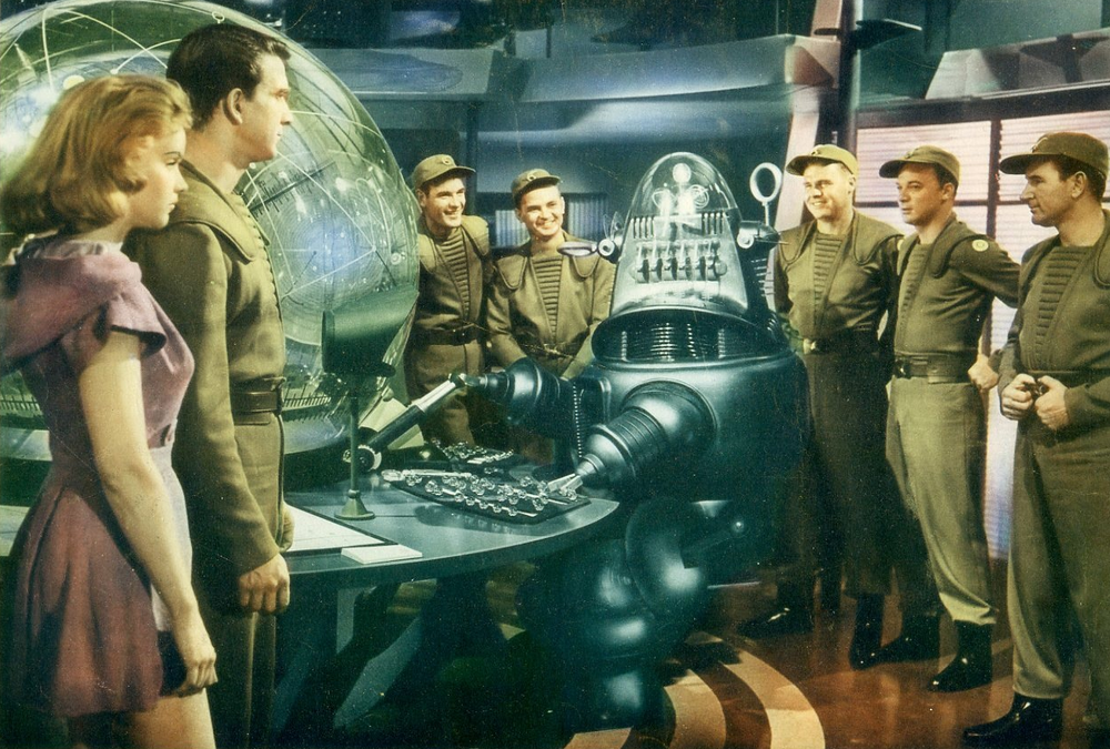 Film still from Wilcox's  Forbidden Planet