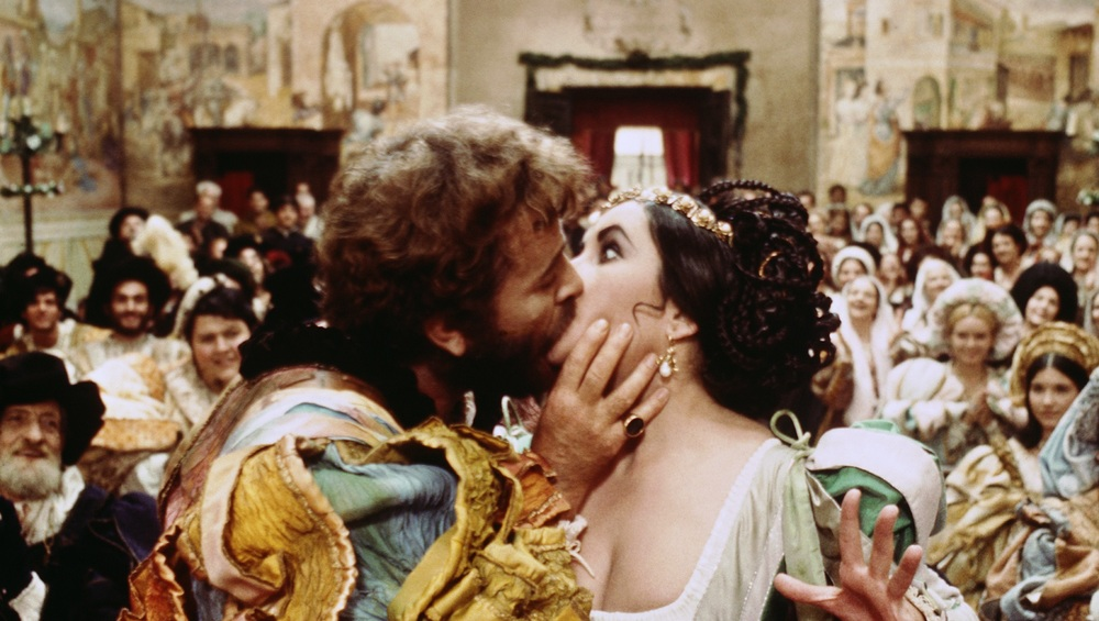 Film still from Zefferelli's  Taming of the Shrew