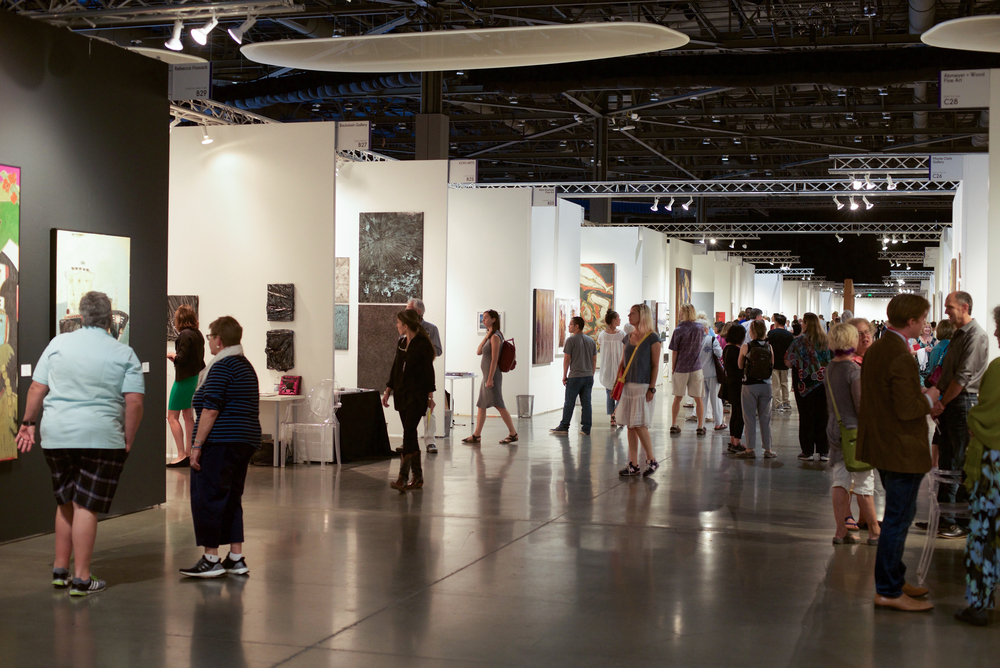 The Seattle Art Fair opened its doors on August 4th and runs through Sunday the 7th.
