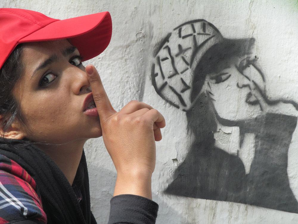 Still from Rokhsareh Ghaem Maghami's Sonita