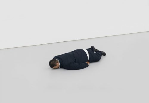He Xiangyu's The Death of Marat (2011)