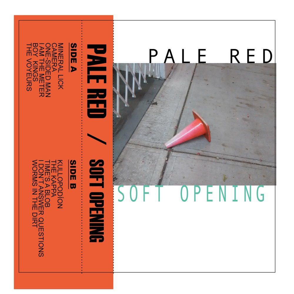 Pale Red cassette: Soft Opening Track: I am the meter