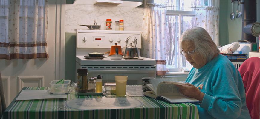 Film still from Simon Plouffe's  Those Who Come, Will Hear  (2017)