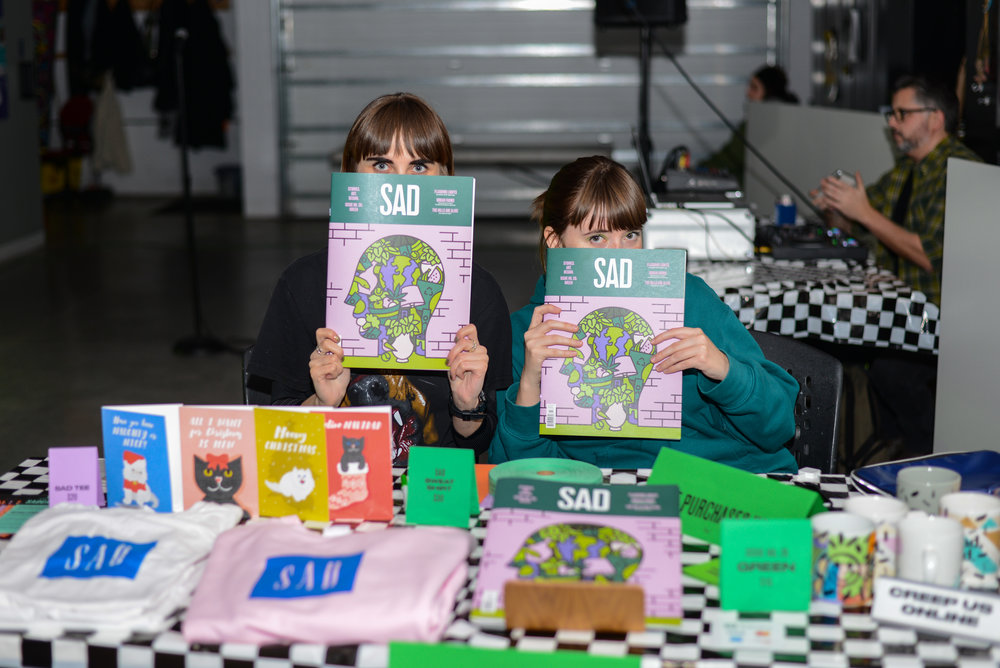 SAD Mag Green Issue Launch