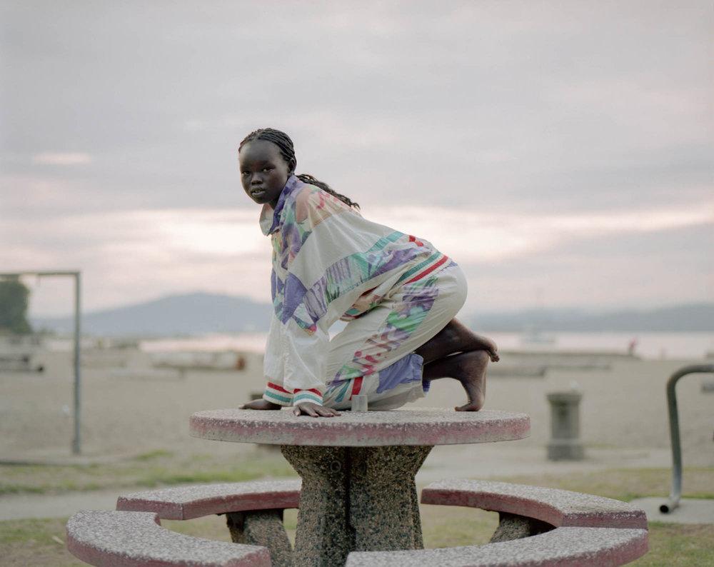 Alakiir (2018) Medium Format Film Modelled by Alakiir Akoi Styled by Lee Triggs