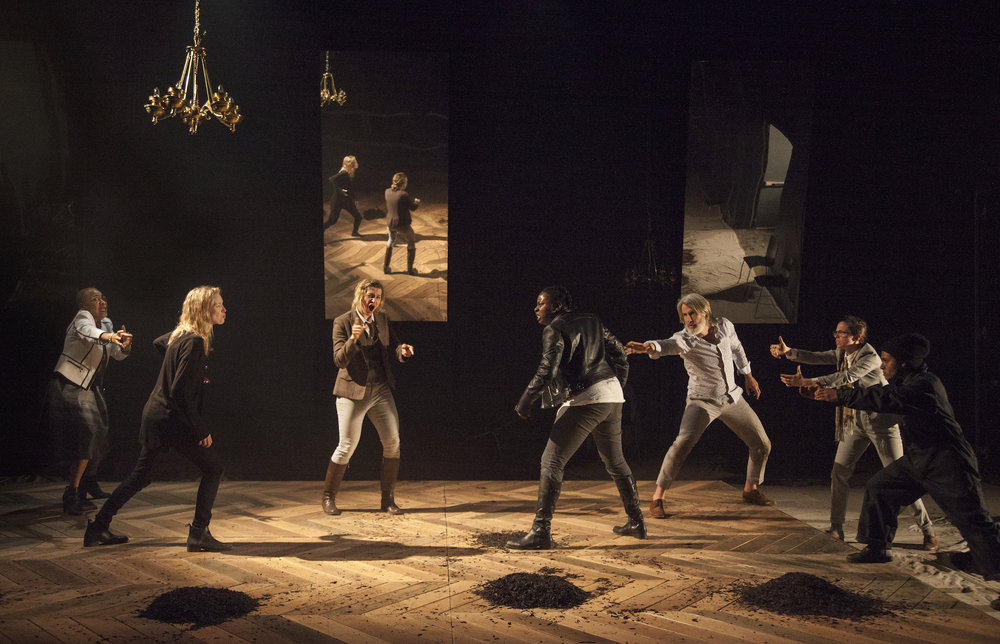 Prince Hamlet.  Photo by Bronwen Sharp.