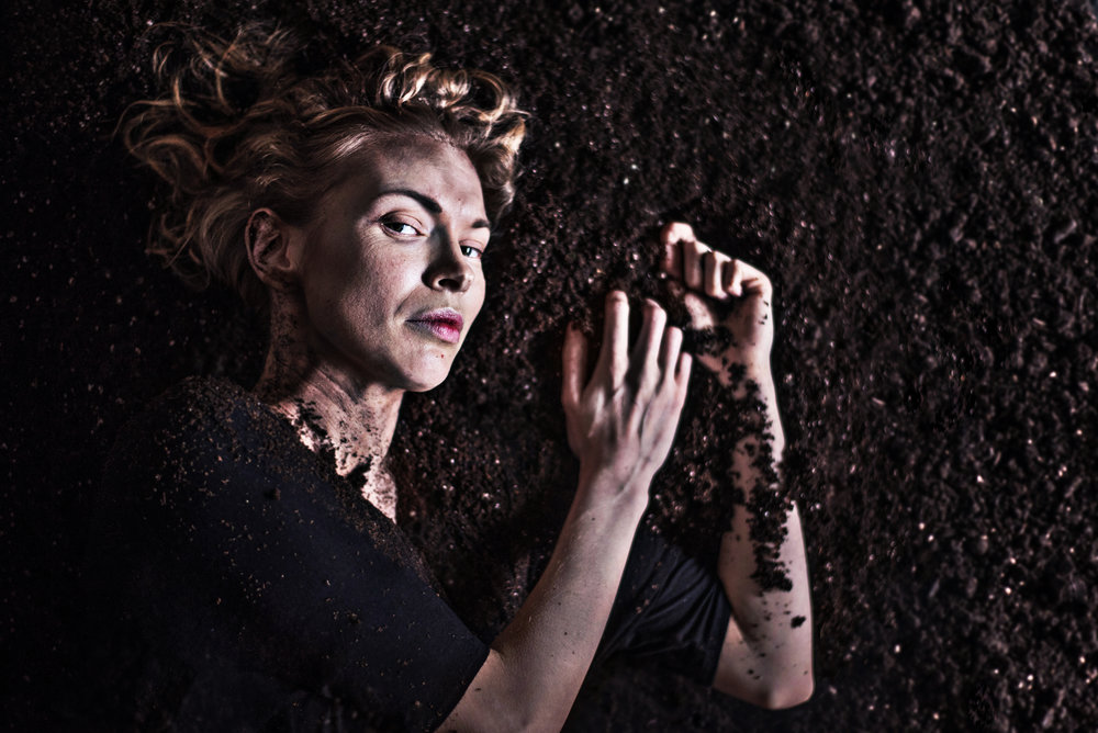 Prince Hamlet.  Photo by Dahlia Katz.