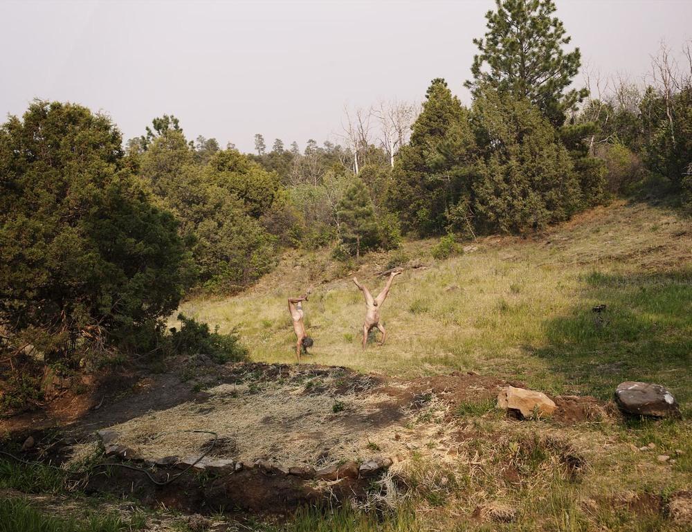 June Bugs, Colorado, 2012, 56 x 42 in