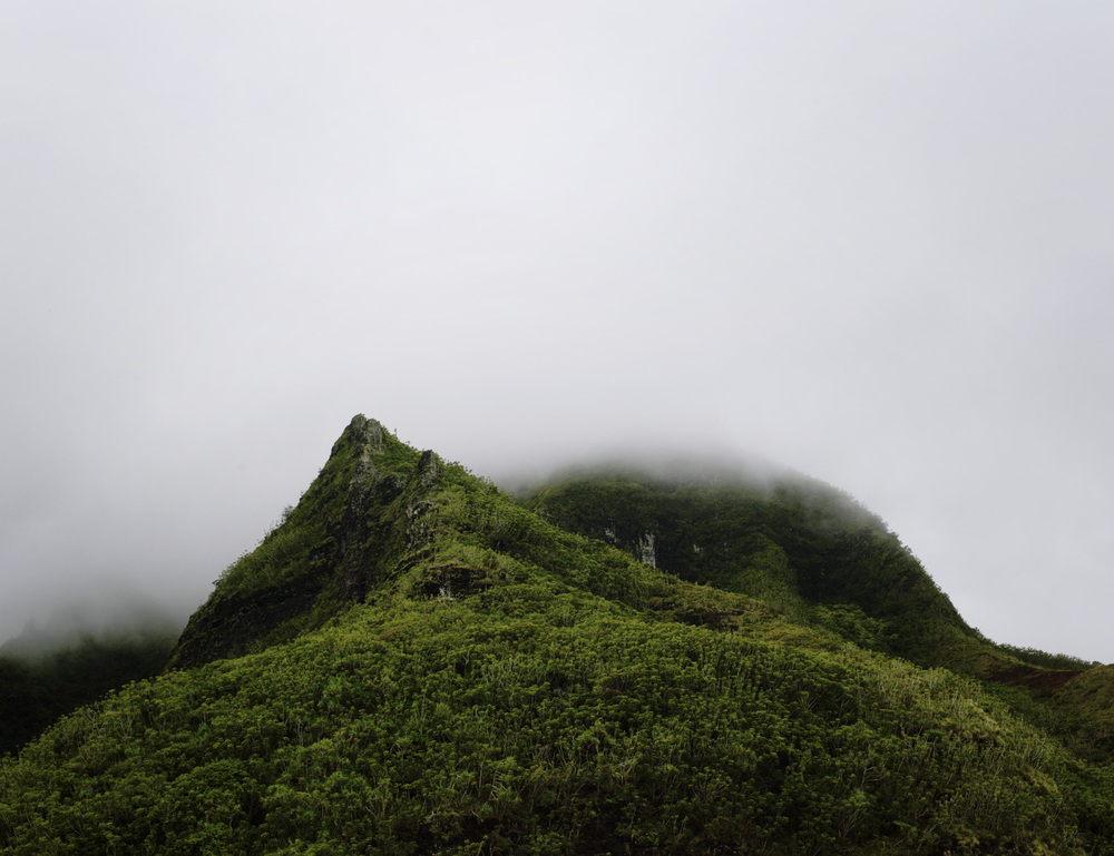 Peak, Hawaii, 2011, 40 x 30 in