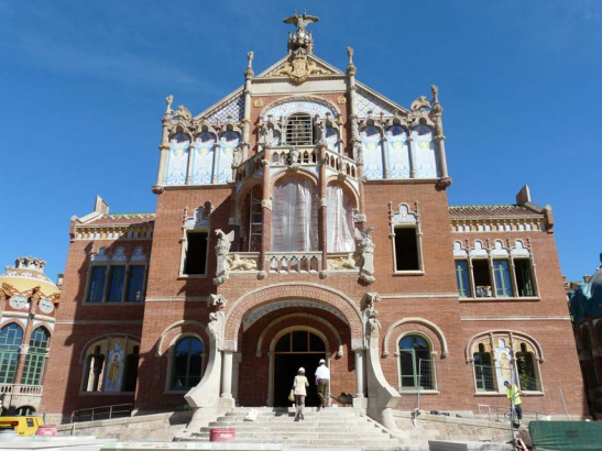 LEED GOLD NC HOSPITAL SANT PAU, BARCELONA