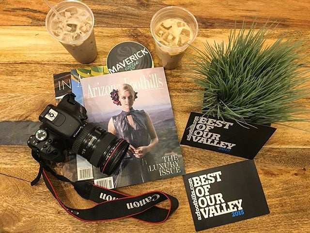 Missing my #Azfoothillsmag fam! Photo adventures, interviews and fun times in the office. Can't wait to see them all soon! 🎈📷