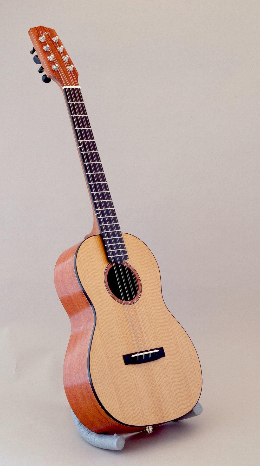 Padauk/Torrefied Sitka Spruce 8-string Baritone
