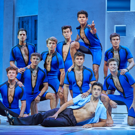 MAMMA MIA! London 2017 - 2018 cast.  Photos by Brinkhoff/Mögenburg