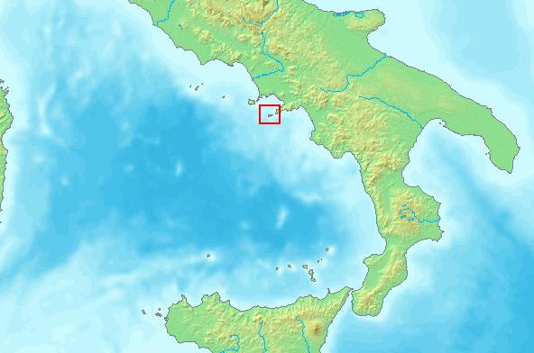 Positano ja Caprin saari
