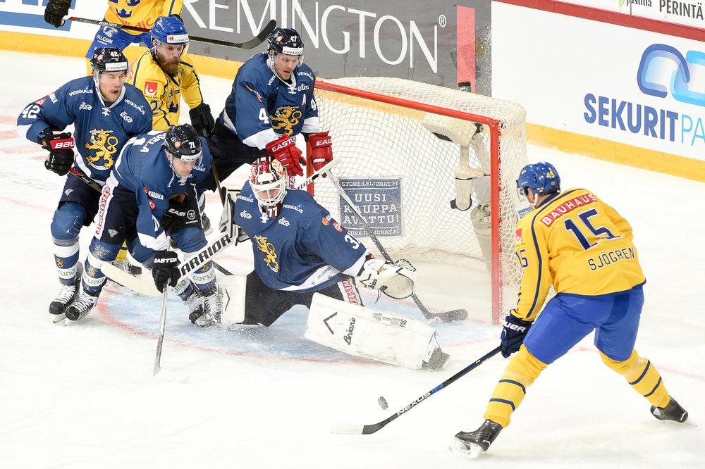 A-maajoukkue, Leijonat, Ruotsi, Karjala-turnaus, 06112016, FIN31 Juha Metsola_0056.JPG