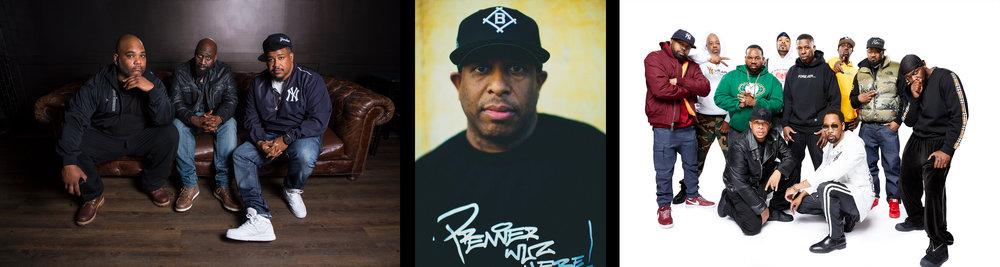 De La Soul - DJ Premier - Wu-Tang Clan