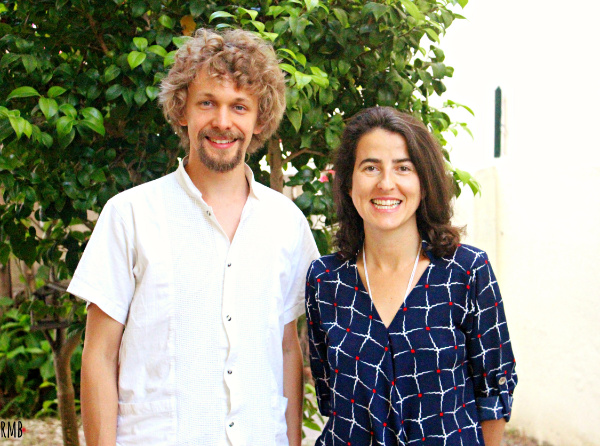 Markus Pesonen & Catarina Brazão, the founders of Acoustic Body