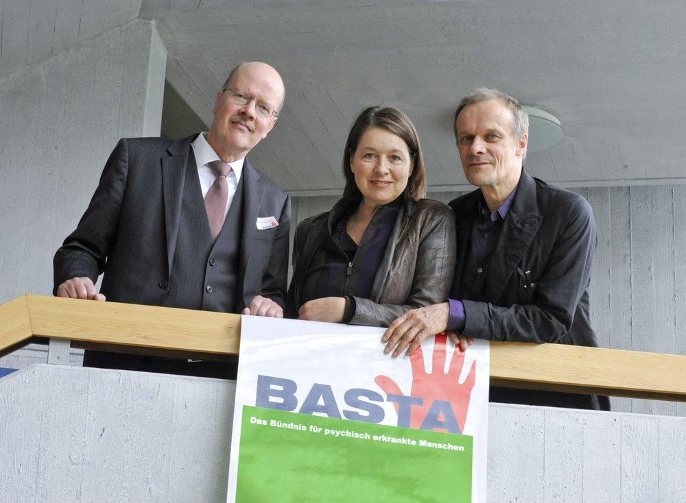 vlnr.: Dr. Kissling (TU München), Franziska Walser, Edgar Selge
