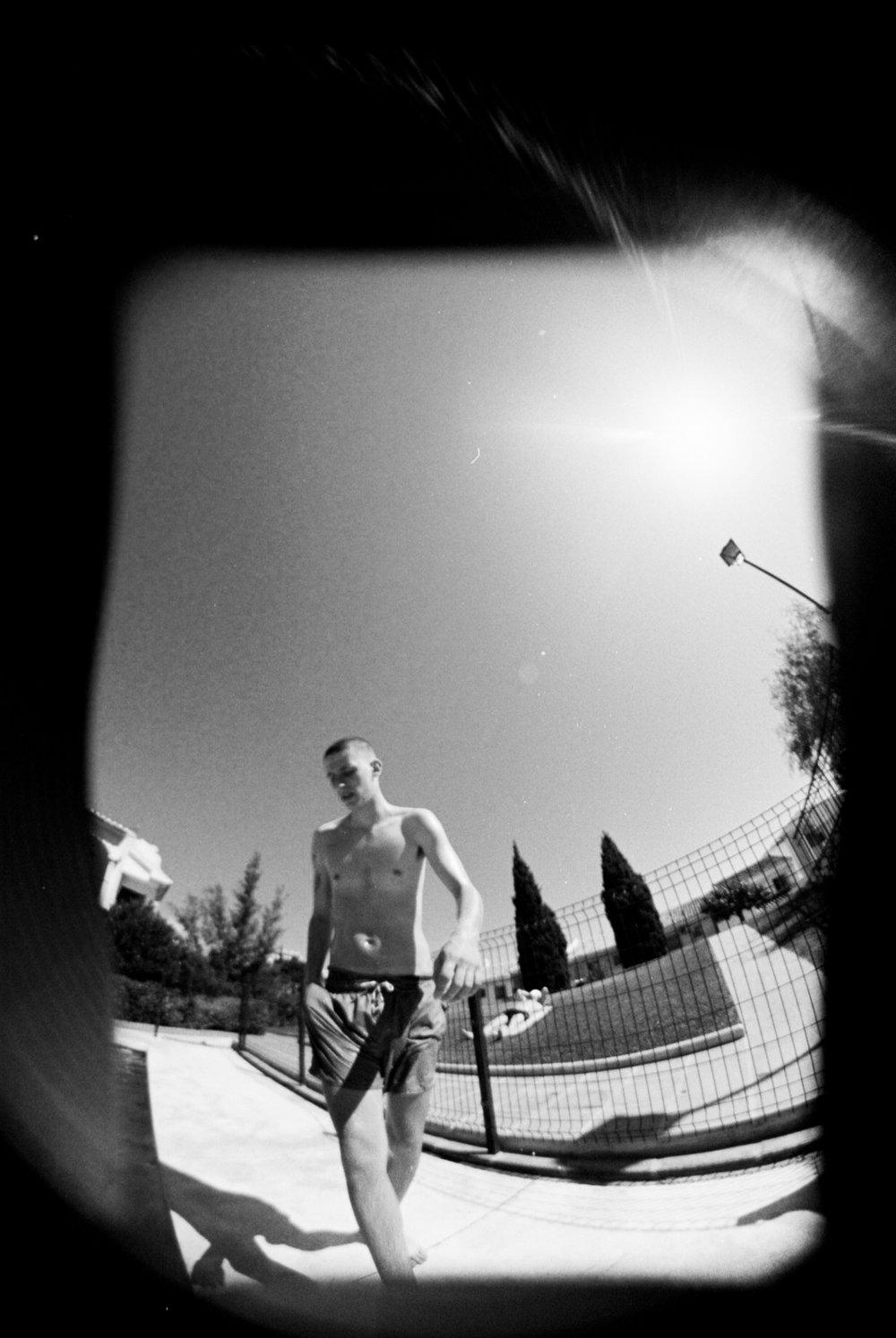 H at pool.