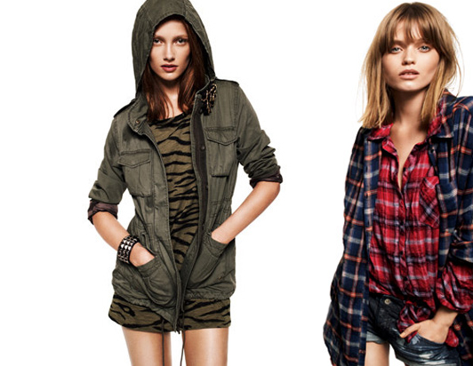 H&M Divided AW 2010 campaign / jacket and shirts