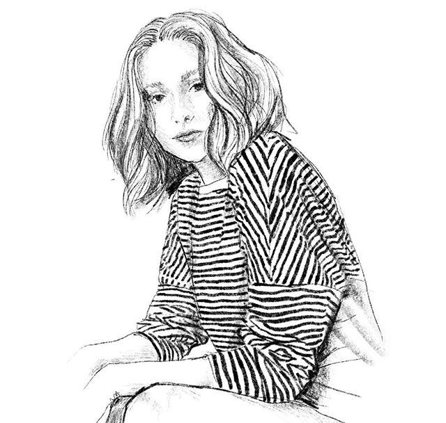 Sucker for stripes #fashionillustration #illustrator #applepencil #instasketch #procreate #ipadpro #stripesfashion #doodlesdesigner