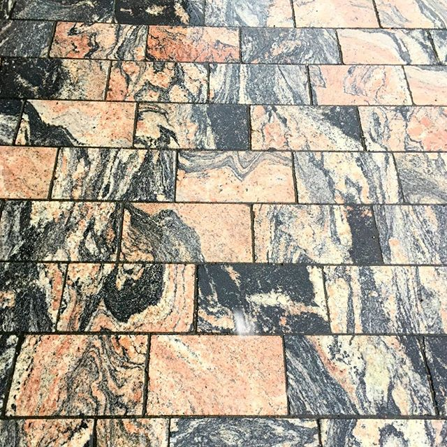 Amazing street tiles in #vanharauma #raum #rauma